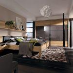 Viola ahşap yatak odası modelleri