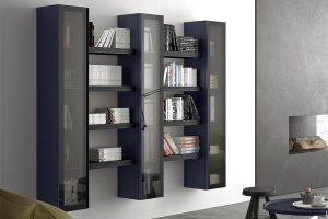 Tosca cam kapaklı kitaplık modeli
