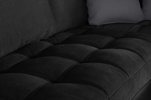 Loob kumaş detayı siyah