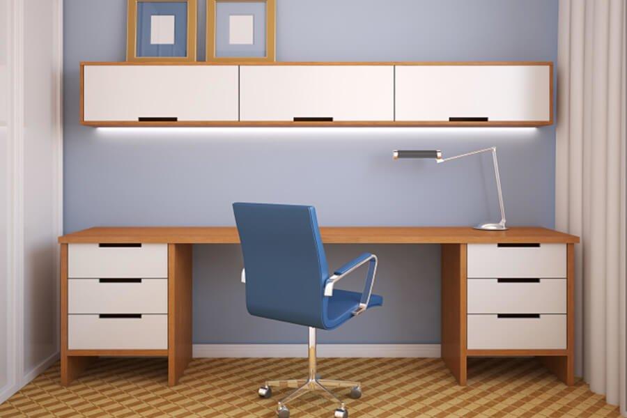 Luta Üst dolaplı çalışma masası