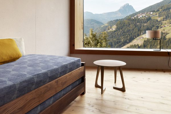 Misafir yatağı detayı