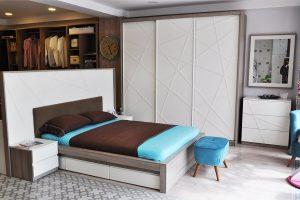 Çekmeceli yatak modelleri takım
