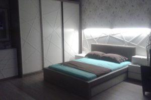 Led ışıklı yatak odası takımı