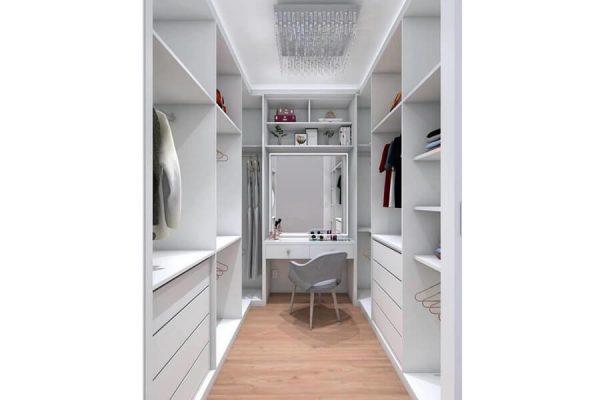 Giyinme Odası Beyaz