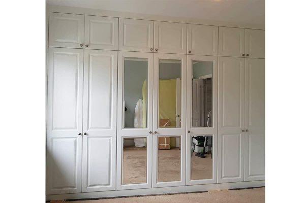 Beyaz yatak odası dolabı modelleri