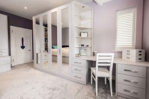 Masalı yatak odası dolabı modelleri