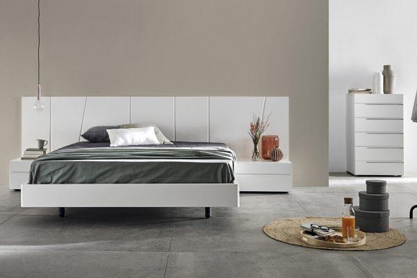 Nuvola beyaz yatak modelleri