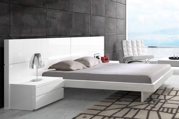 Mist beyaz yatak modelleri