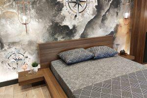 Alçak yatak başlığı modelleri