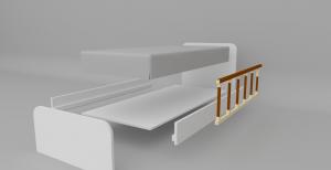 Yandan korumalı yatak